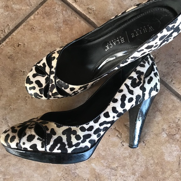 Snow Leopard High Heels | Poshmark